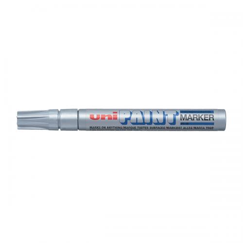 Uni-Ball Markör Boyama Paınt Marker 2.2-2.8 MM Gümüş PX-20