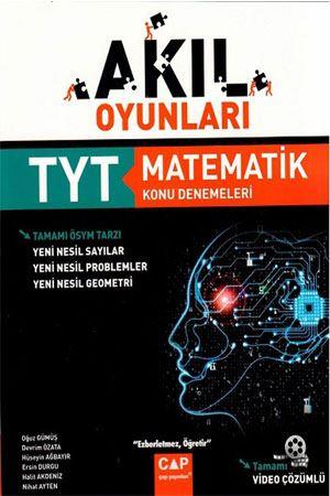 Çap Yayınları TYT Matematik Akıl Oyunları Konu Denemeleri