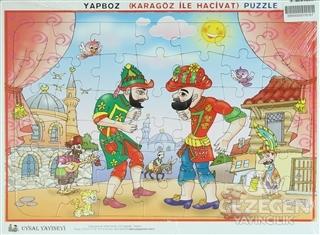 Uysal Yapboz - Karagöz ile Hacivat (42 Parça)