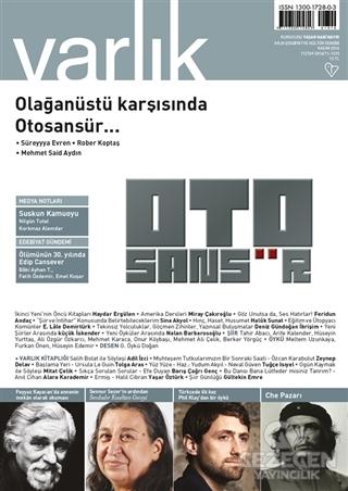 Varlık Aylık Edebiyat ve Kültür Dergisi Sayı: 1310 - Kasım 2016