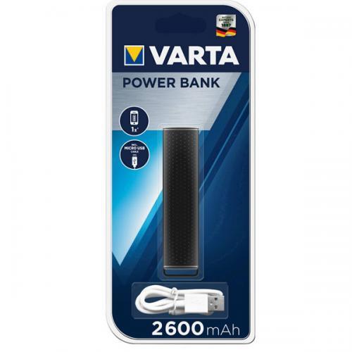 Varta Power Bank 2.600 Mah Siyah