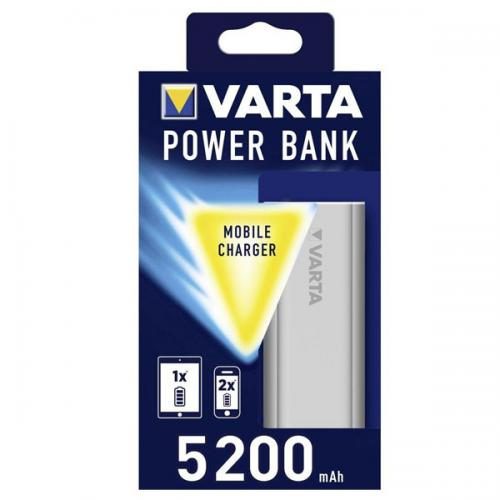 Varta Power Bank 5.200 Mah Gümüş 57963