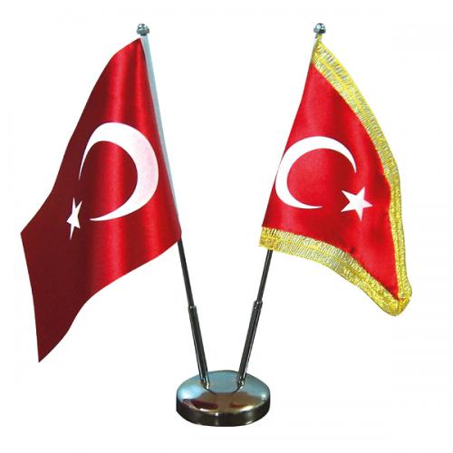 Vatan Bayrak Direği Çiftli Nikel VT302