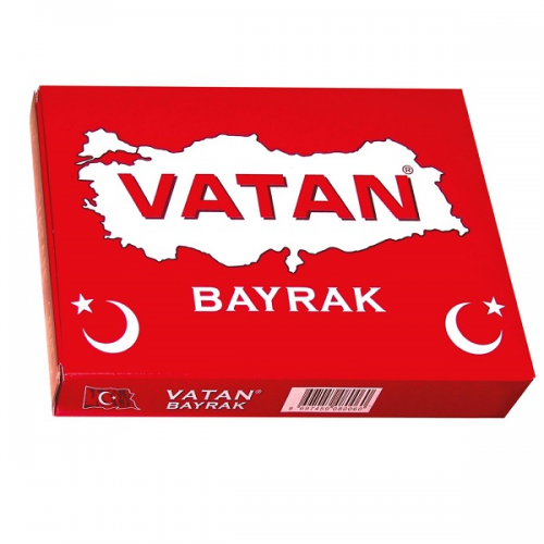 Vatan Masa Bayrağı Türk %100 Polyester 20x30 VT101