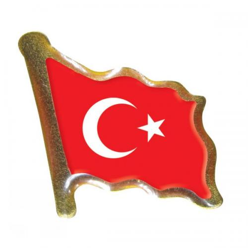 Vatan Rozet Türk Bayrağı VT602