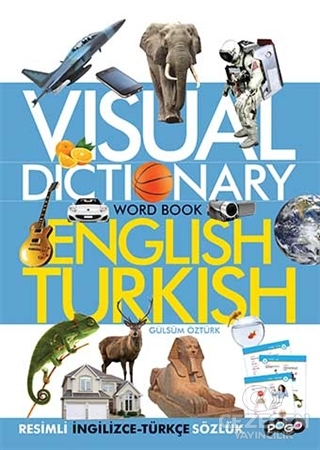 Visual Dictionary Word Book English - Turkish
