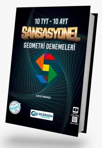 TYT ve AYT (10+10) Sansasyonel Geometri Deneme Sınavı    Gezegen Yayıncılık