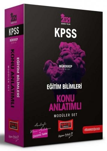 2021 KPSS Eğitim Bilimleri Konu Anlatımlı Modüler Set Mürekkep Serisi