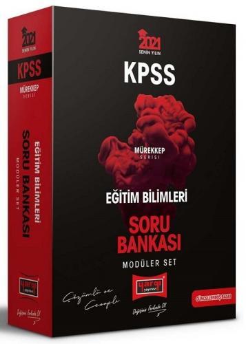 Yargı 2021 KPSS Eğitim Bilimleri MÜREKKEP Soru Bankası Çözümlü Modüler Set Yargı Yayınları