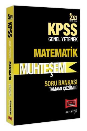 Yargı 2021 KPSS Matematik Muhteşem Soru Bankası Çözümlü Yargı Yayınları