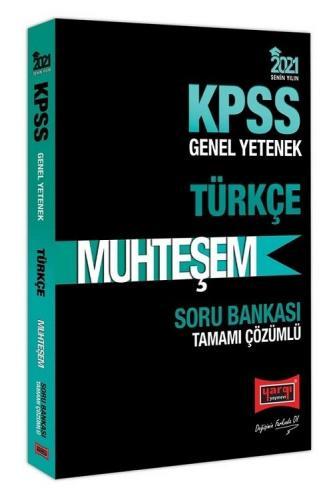 Yargı 2021 KPSS Türkçe Muhteşem Soru Bankası Çözümlü Yargı Yayınları