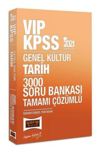 2021 KPSS VIP Tarih Tamamı Çözümlü 3000 Soru Bankası