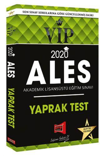 ALES 2020 Vip Yaprak Test | Yargı Yayınları