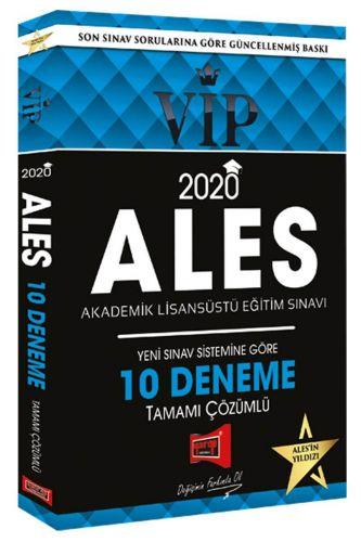 ALES 2020 Vip Çözümlü 10'Lu Deneme Sınavı | Yargı Yayınları
