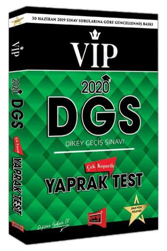 2020 DGS VIP Yaprak Test Çek Kopart   Yargı Yayınları
