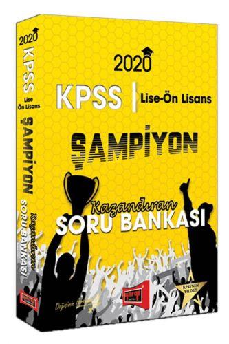 2020 Lise-Ön Lisans KPSS GY-GK Şampiyon Kazandıran Soru Bankası