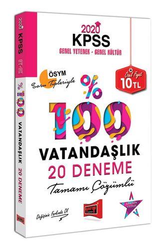 2020 KPSS Vatandaşlık Tamamı Çözümlü 20 Deneme
