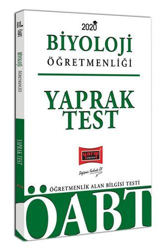 2020 ÖABT Biyoloji Öğretmenliği Yaprak Test