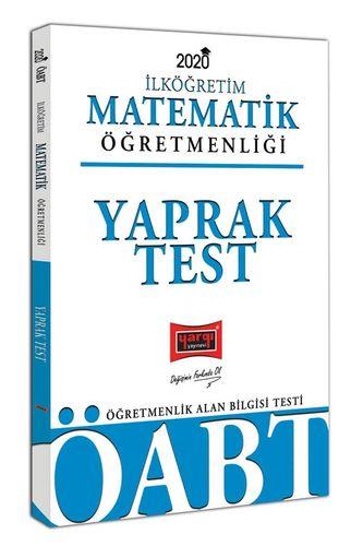 2020 ÖABT İlköğretim Matematik Öğretmenliği Yaprak Test