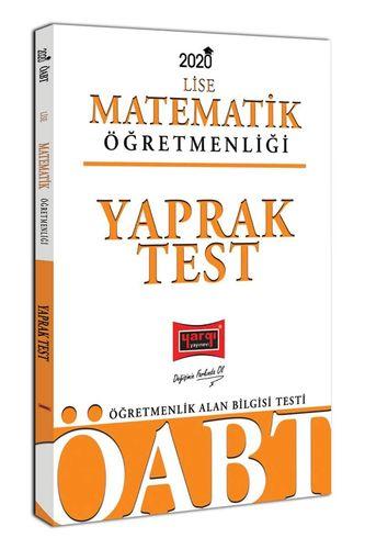 2021 ÖABT Lise Matematik Öğretmenliği Yaprak Test