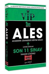 2021 ALES VIP Son 11 Sınav Tamamı Çözümlü Çıkmış Sorular