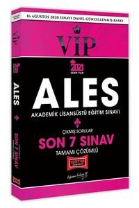 Yargı 2021 ALES VIP Çıkmış Sorular Son 7 Sınav Çözümlü Yargı Yayınları