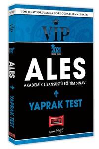 2021 ALES VIP Yaprak Test