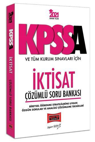2021 KPSS A Grubu ve Tüm Kurum Sınavları İçin İktisat Çözümlü Soru Bankası