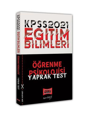 2021 KPSS Eğitim Bilimleri Öğrenme Psikolojisi Yaprak Test