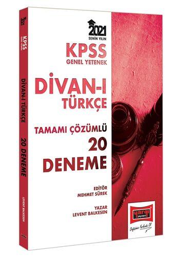 2021 KPSS GY Divanı Türkçe Tamamı Çözümlü 20 Deneme