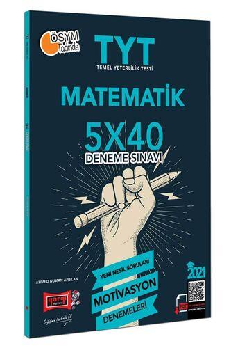 2021 TYT Matematik 5×40 Motivasyon Deneme Sınavı