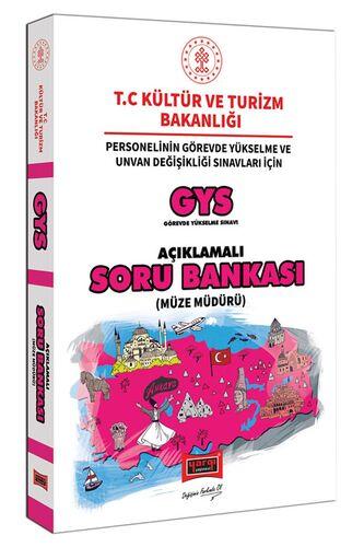 Yargı Yayınları GYS T.C. Kültür ve Turizm Bakanlığı Müze Müdürü İçin Açıklamalı Soru Bankası