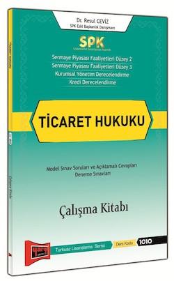 Spk Ticaret Hukuku Çalışma Kitabı   Yargı Yayınları
