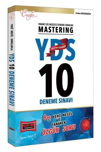 YDS Mastering 10 Deneme Sınavı