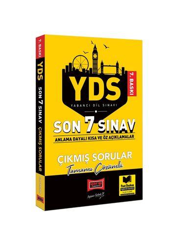 YDS Son 7 Sınav Tamamı Çözümlü Çıkmış Sorular