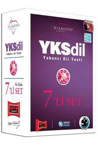 YKSDİL Yabancı Dil Testi 7'li Modüler Set Diamond Series
