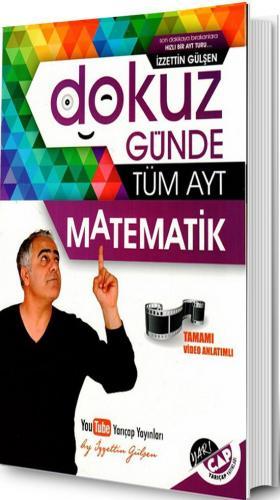 Yarı Çap AYT 9 Günde Tüm Matematik Soru Bankası - 2019