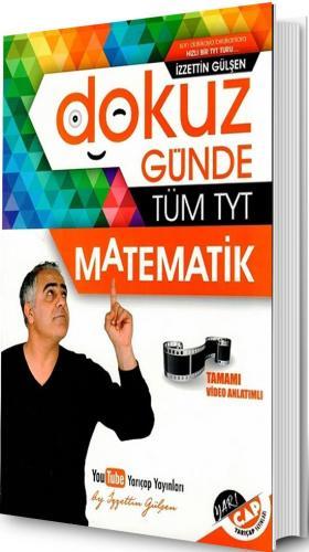 Yarı Çap TYT 9 Günde Tüm Matematik Soru Bankası - 2019