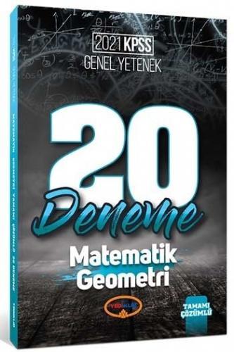 2021 Kpss Genel Yetenek Matematik - Geometri Tamamı Çözümlü 20 Deneme