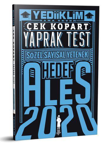 2020 ALES Sayısal Sözel Yetenek Çek Kopart Yaprak Test | Yediiklim Yayınları