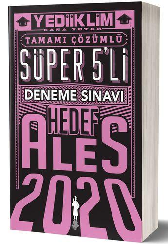 ALES 2020 Çözümlü Süper 5'Li Deneme Sınavı | Yediiklim Yayınları