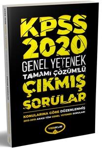 Yediiklim Yayınları 2020 KPSS Genel Yetenek2013-2019Konularına Göre Tamamı Çözümlü Çıkmış Sorular