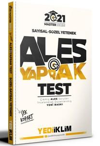 2021 Ales Sayısal Sözel Yetenek Çek Kopart Yaprak Test