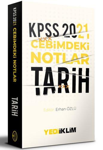 Yediiklim Yayınları2021 Kpss Cebimdeki NotlarTarih