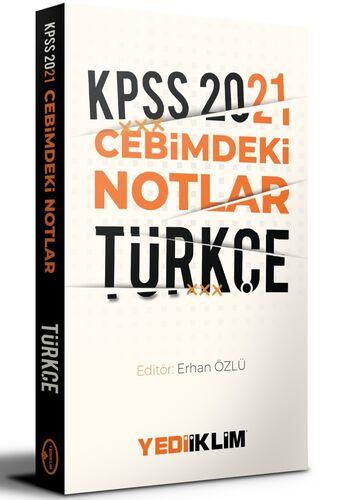 Yediiklim Yayınları2021 Kpss Cebimdeki NotlarTürkçe