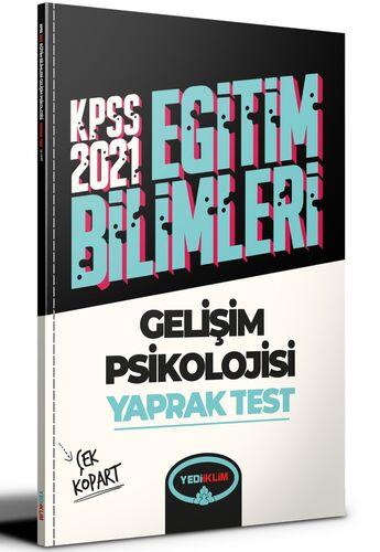 Yediiklim Yayınları 2021 Kpss Eğitim Bilimleri Gelişim Psikolojisi Çek Kopart Yaprak Test