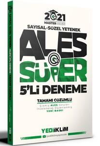 Yediiklim 2021 ALES Süper 5 li Deneme Çözümlü Yediiklim Yayınları