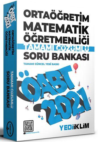 2021 ÖABT Ortaöğretim Matematik Öğretmenliği Tamamı Çözümlü Soru Bankası