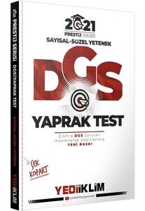 Yediiklim 2021 DGS Prestij Yaprak Test Yediiklim Yayınları