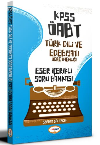 KPSS ÖABT Türk Dili ve Edebiyatı Öğretmenliği Eser İçerikli Soru Bankası